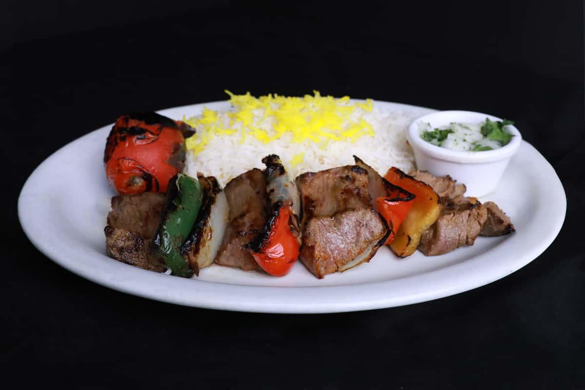 Filet Minion Shish Kabob