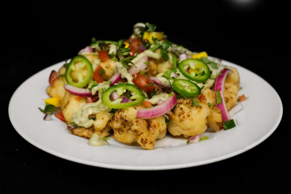 Cauliflower Nachos