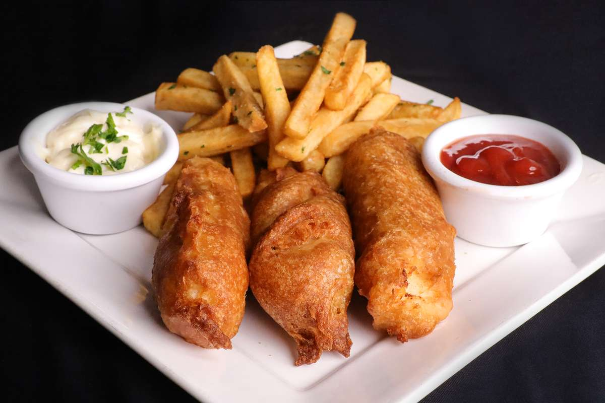 Beer Battered Cod Fish and Chips