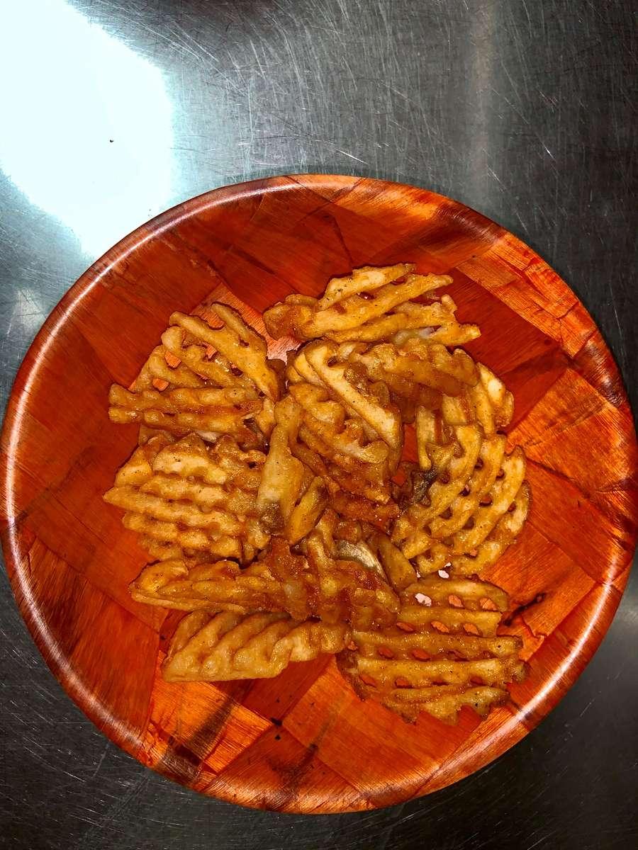 Seasoned Waffle Fries