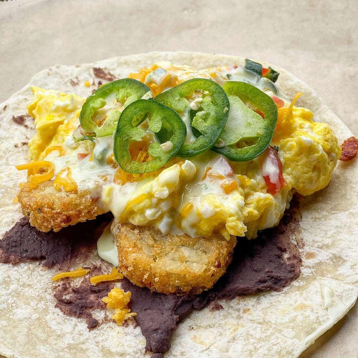 Hashbrown Breakfast Taco