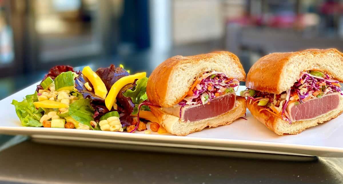 ahi tuna sandwich