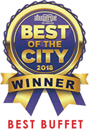 Best of the City 2018 - Top 5 - Best Buffet