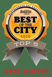 Best of the City 2015 - Top 5 - Best Buffet