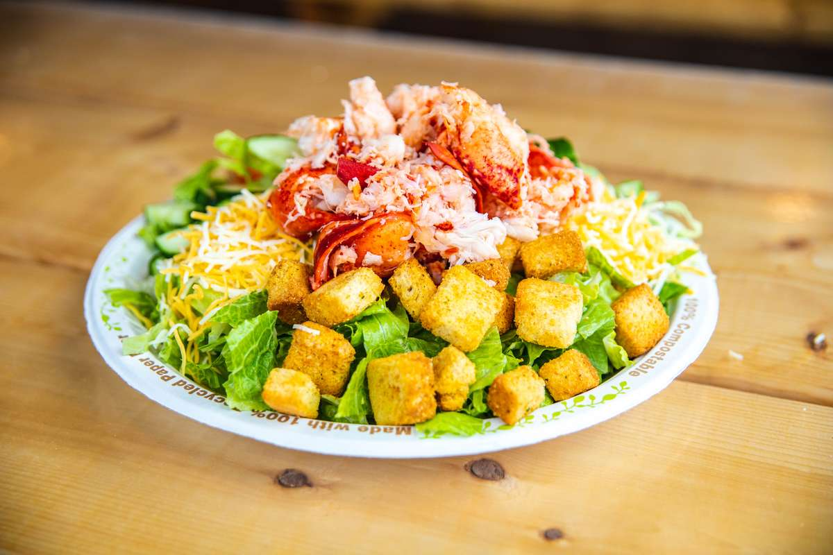 lobster garden salad