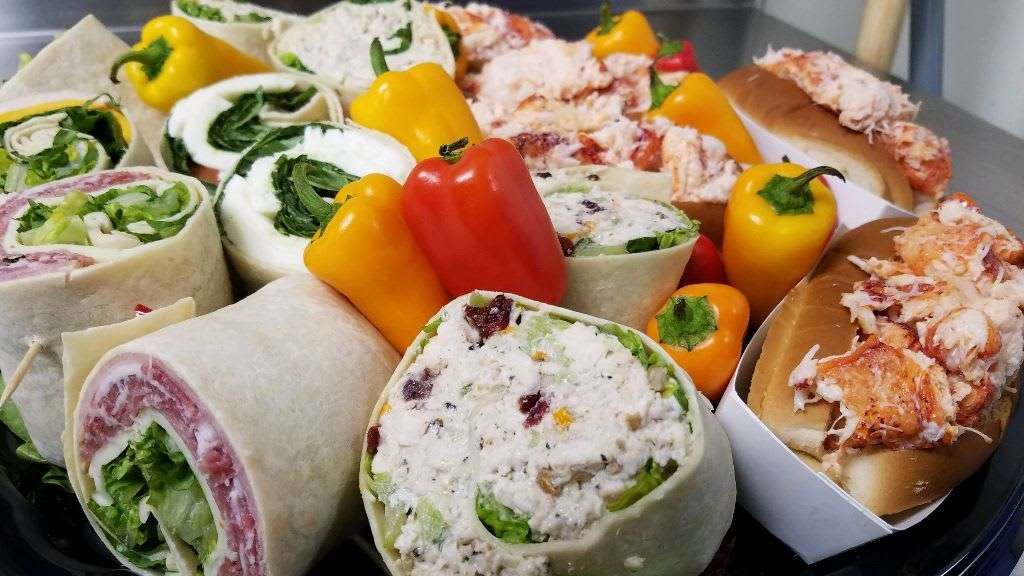catering sandwiches and wraps