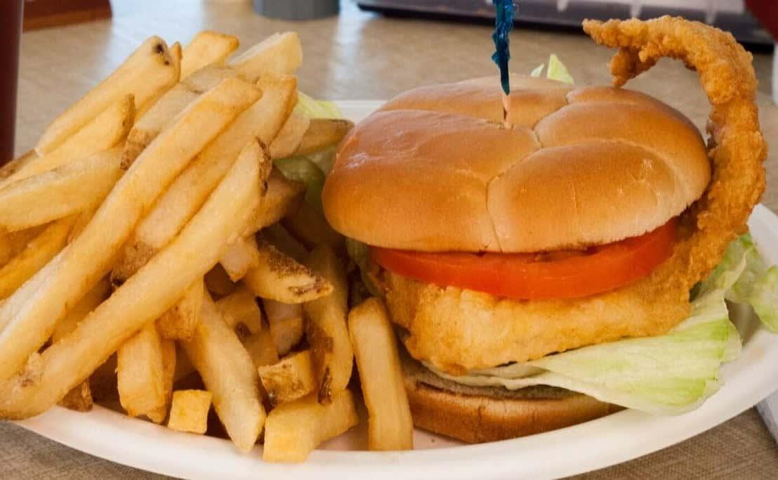 """Big Catch"" (Fried Haddock)"