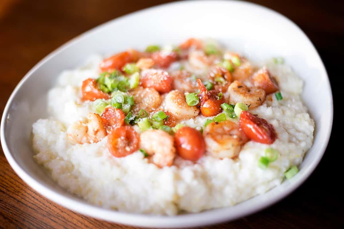 Louisiana Shrimp + Grits