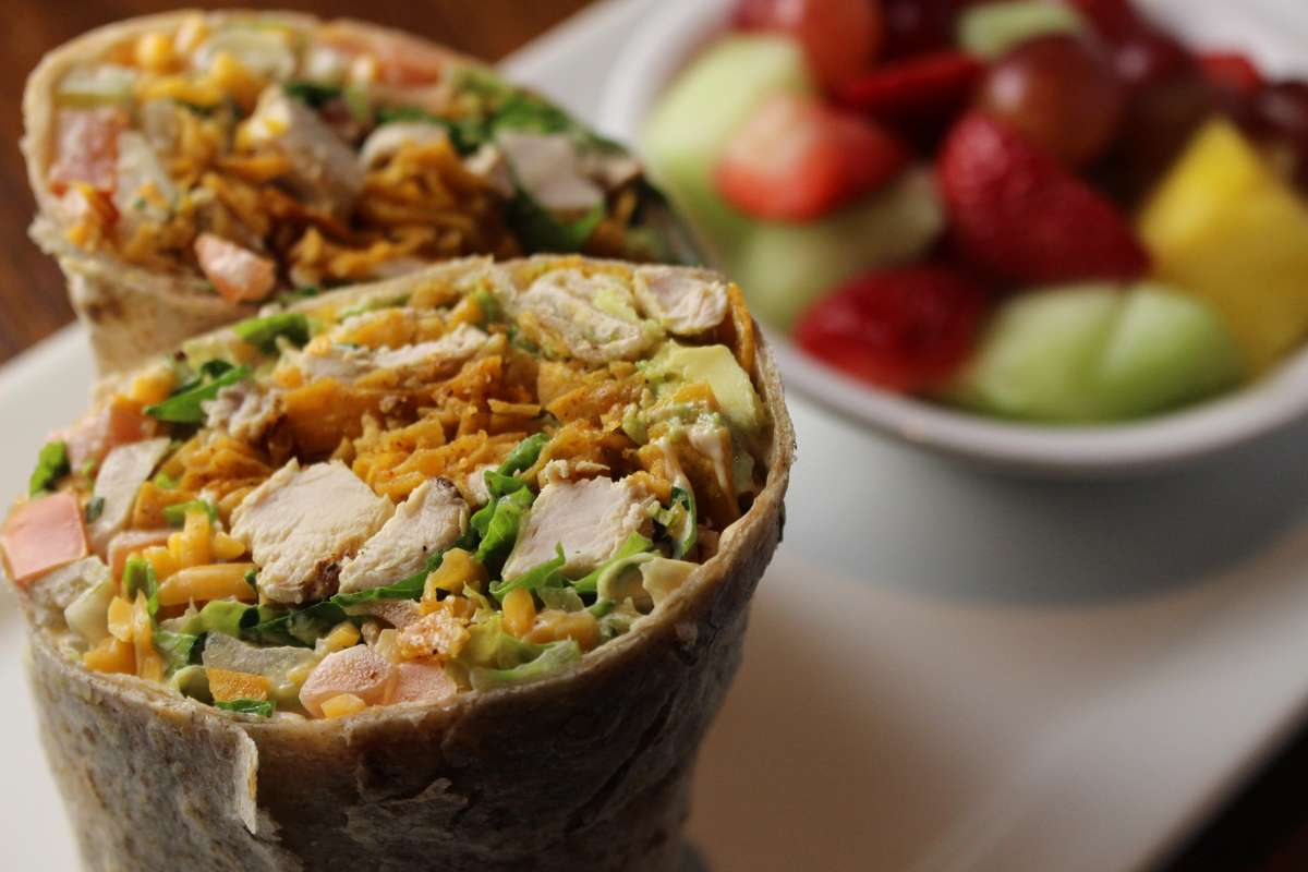 Chicken Fresca Wrap