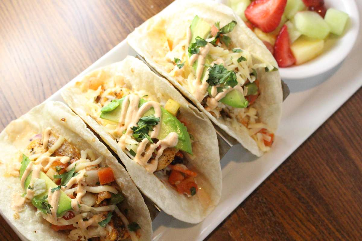 Walleye Fish Tacos