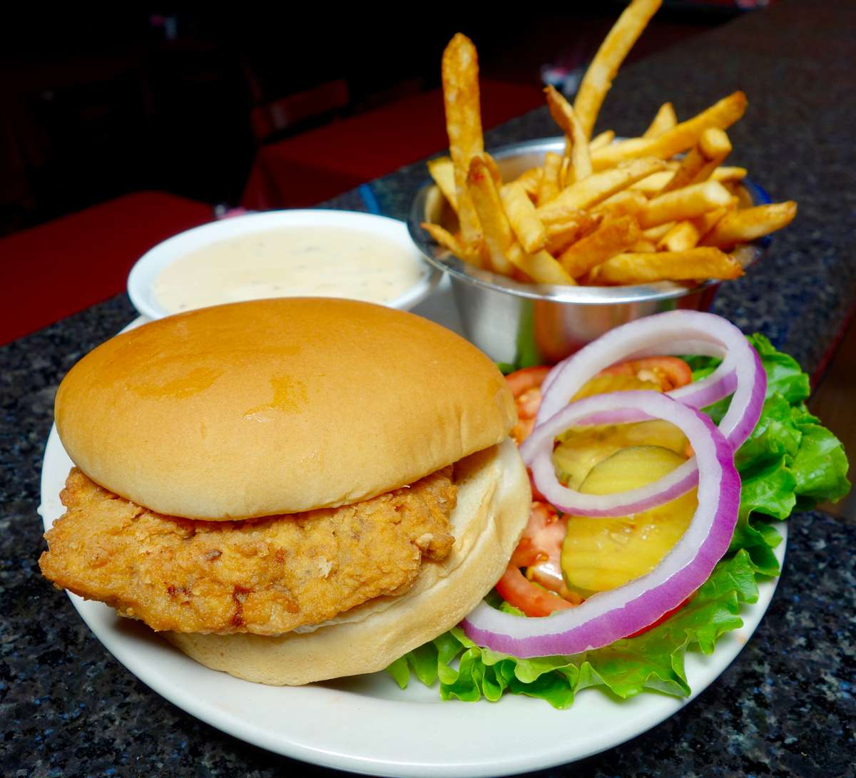 Duke's Chicken Fried Steak Sandwich