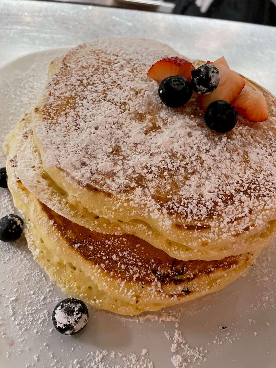 Three Buttermilk Pancakes