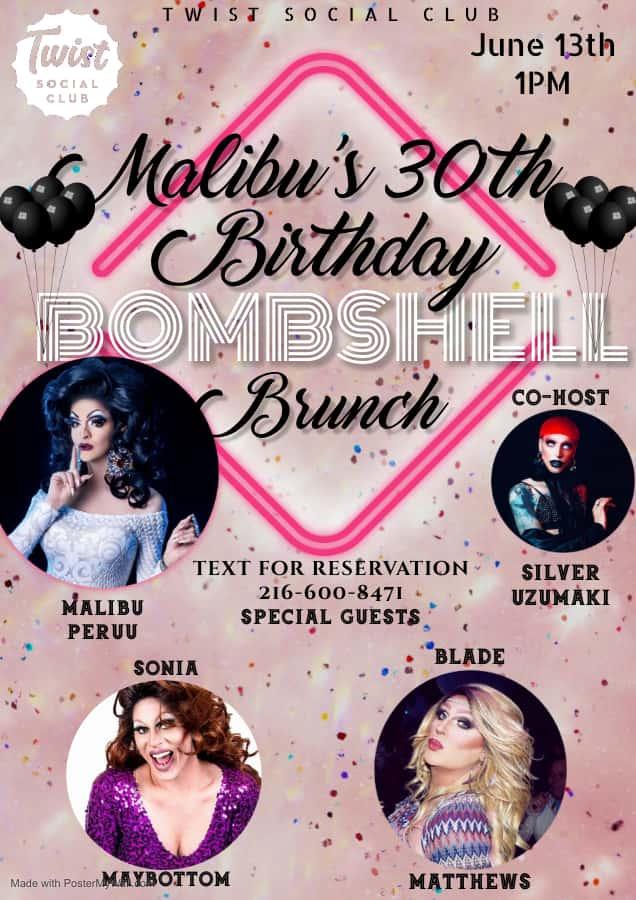 Bombshell Brunch: Malibu's Birthday