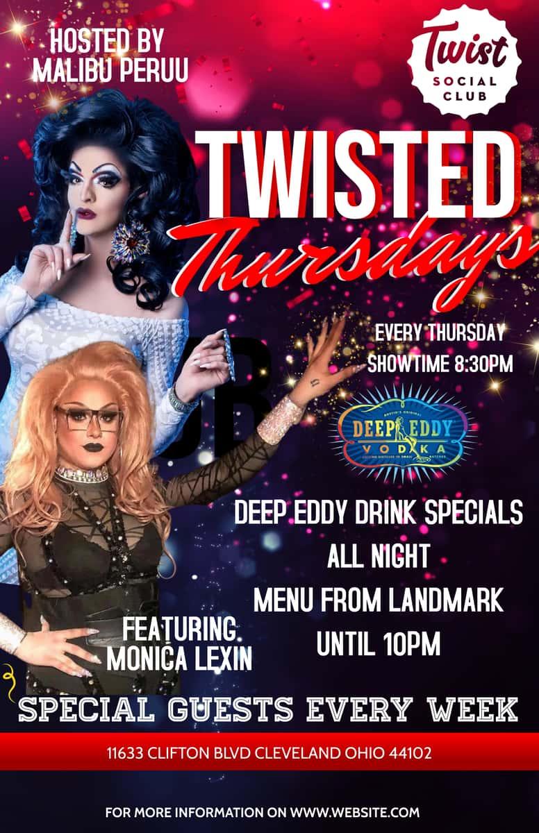 Thursday - Twisted Thursday Drag Show
