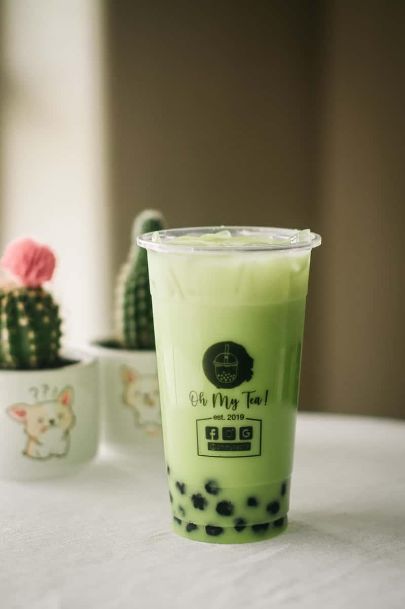 Honeydew Milk Tea