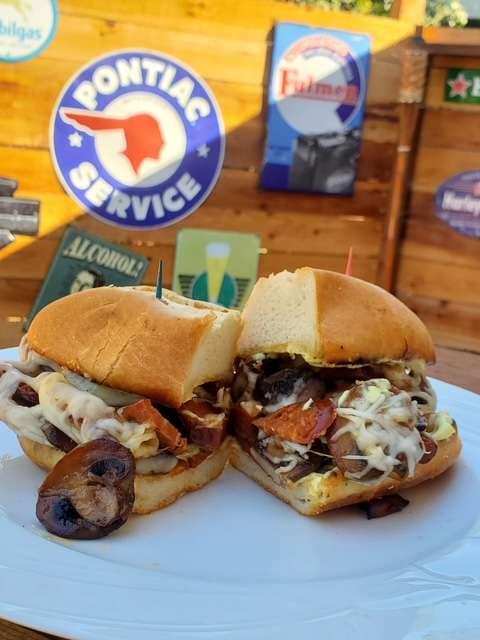 The Impala Sando meal