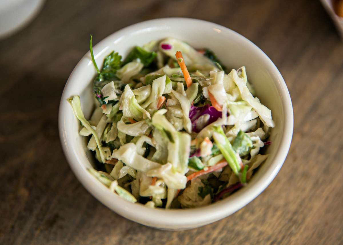 Apple Jalapeno Slaw