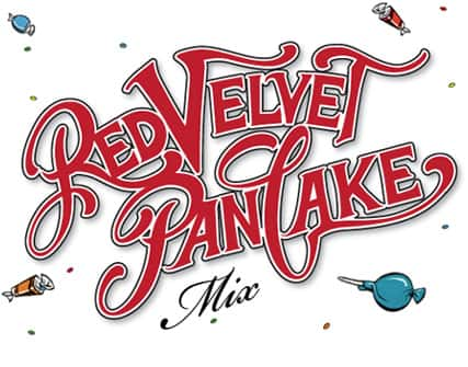red velvet pancake mix