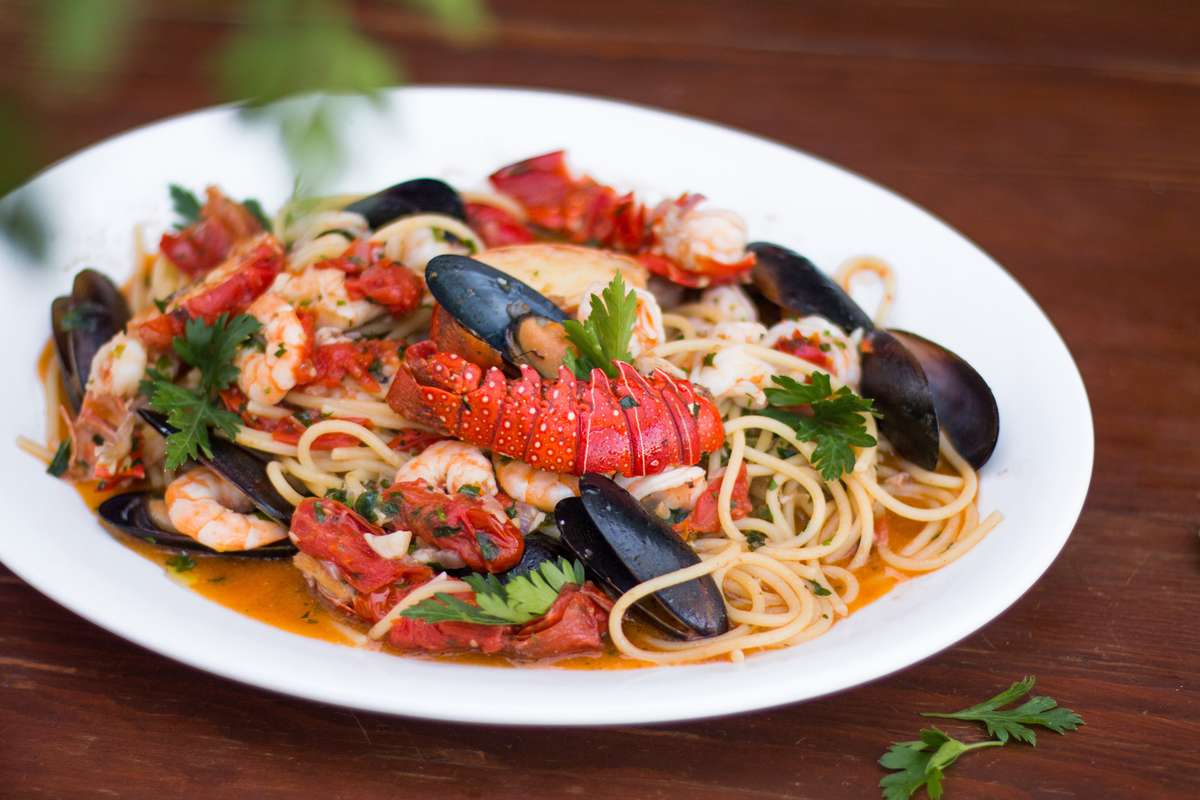 Fresh Seafood and Pasta