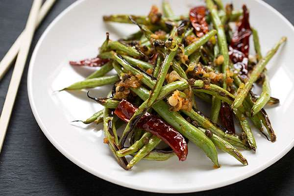 Szechuan Fried Green Beans