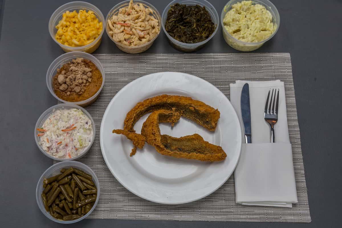 Baltimore Sea Trout Platter