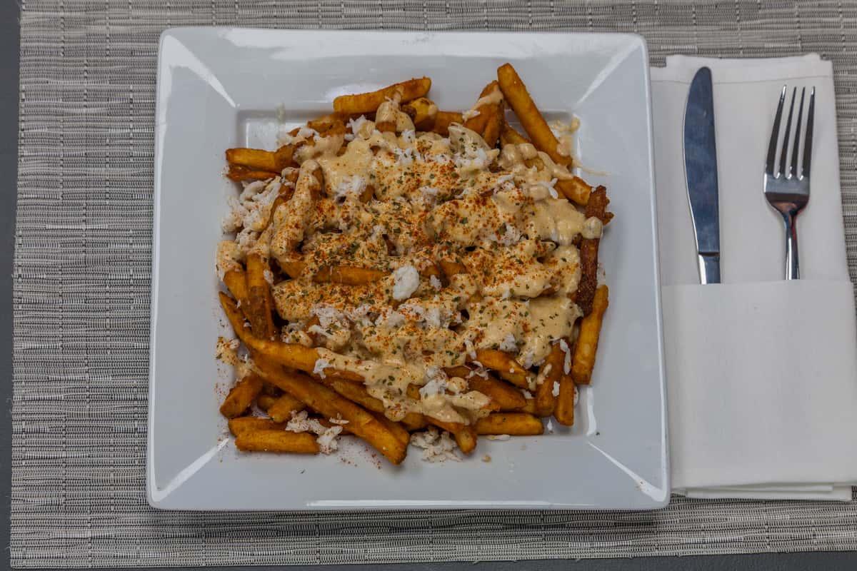 crabby fries