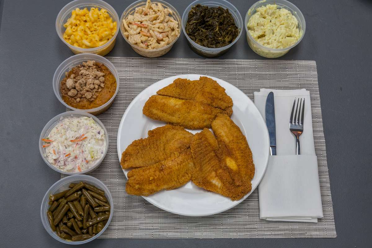 Tilapia Fish Platter