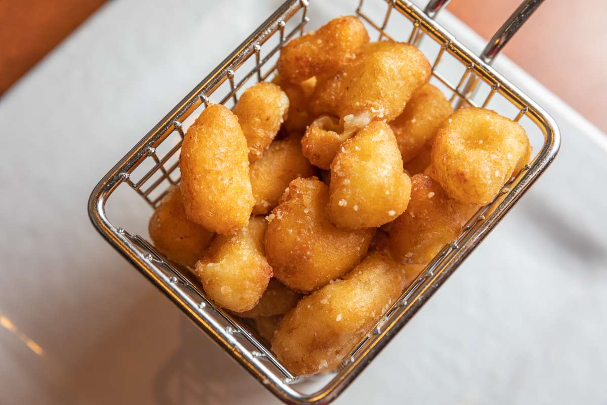 Truffle Parmesan Cheese Curds