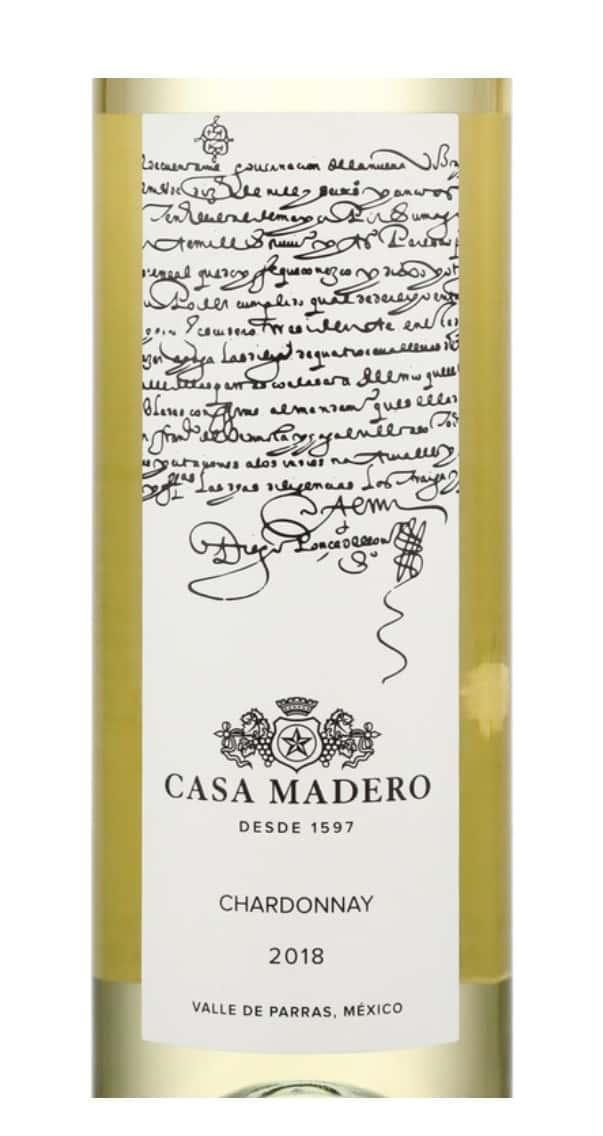 Casa Madero, Chardonnay