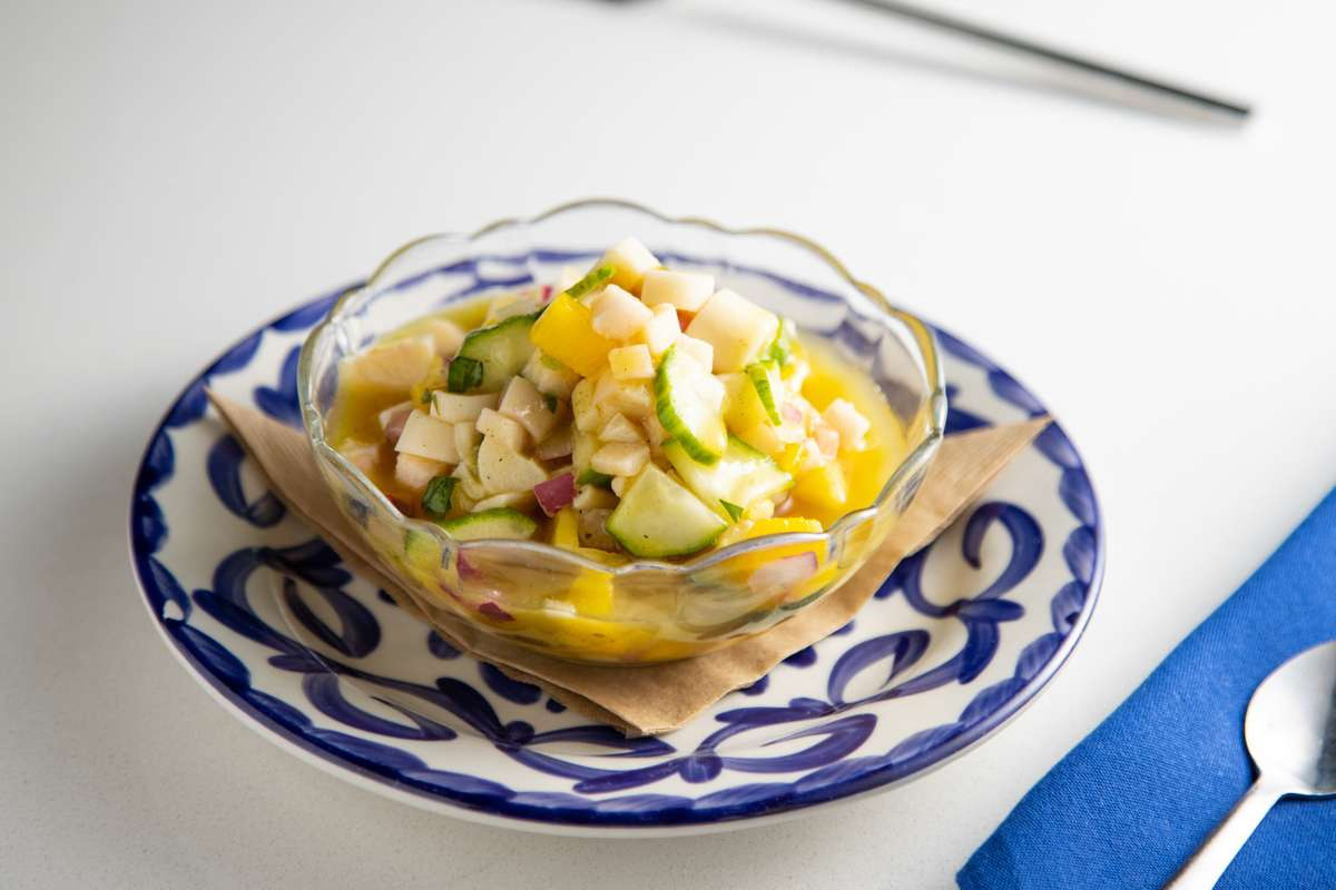 Heart of Palm Ceviche (Vegan)
