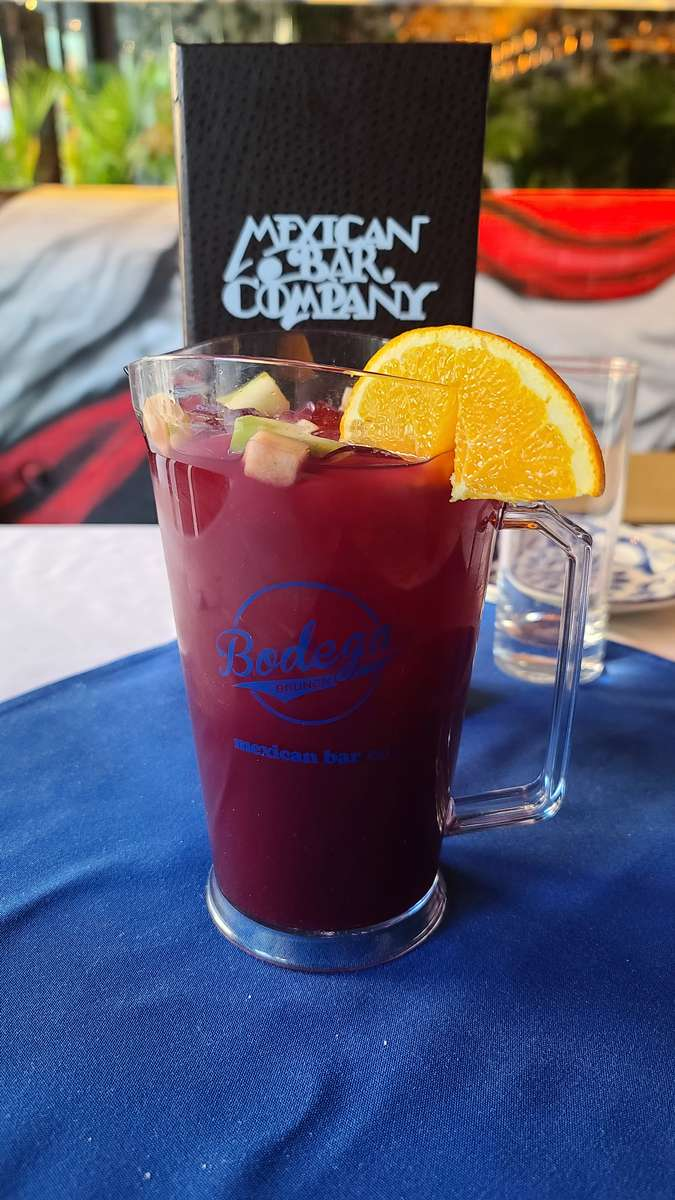 Small Sangria Brunch Pitcher 32oz