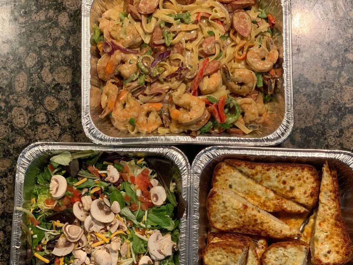 Cajun Shrimp Orleans Feast