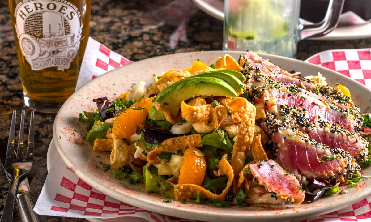 Seventh Street Ahi Salad