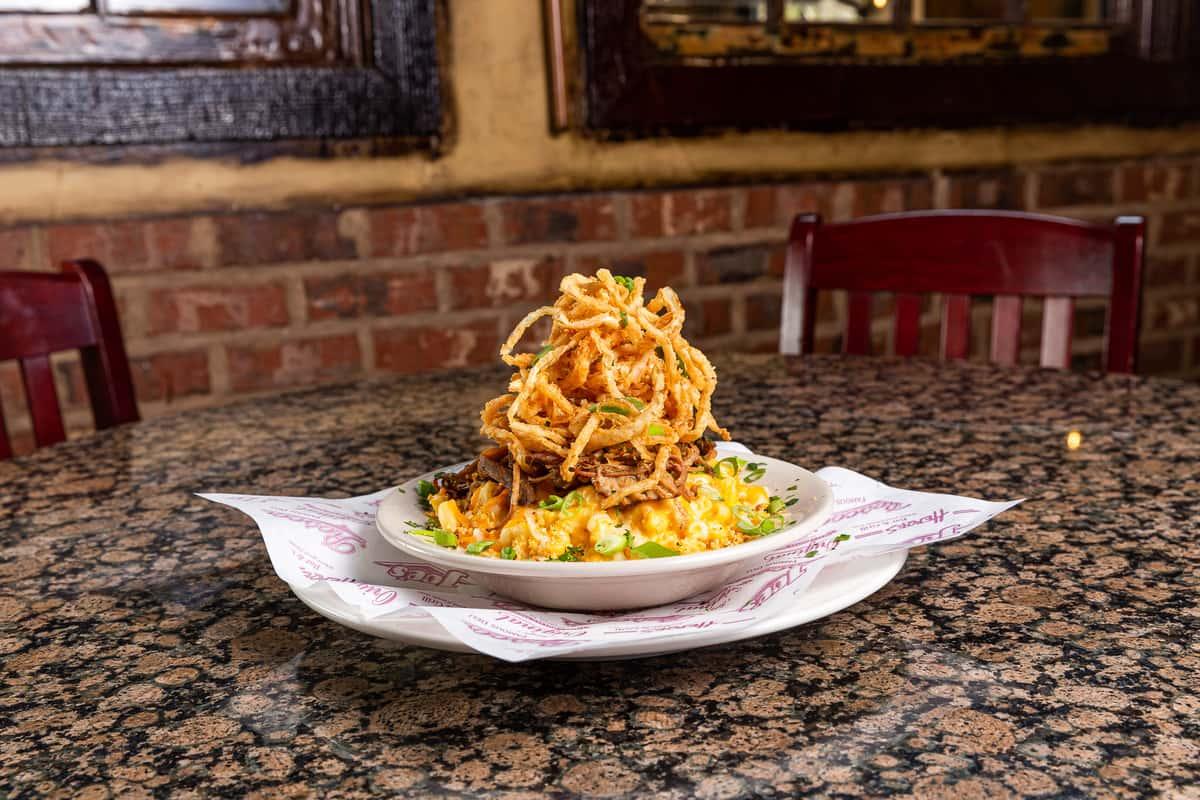 Carolina Gold BBQ Mac and Cheese