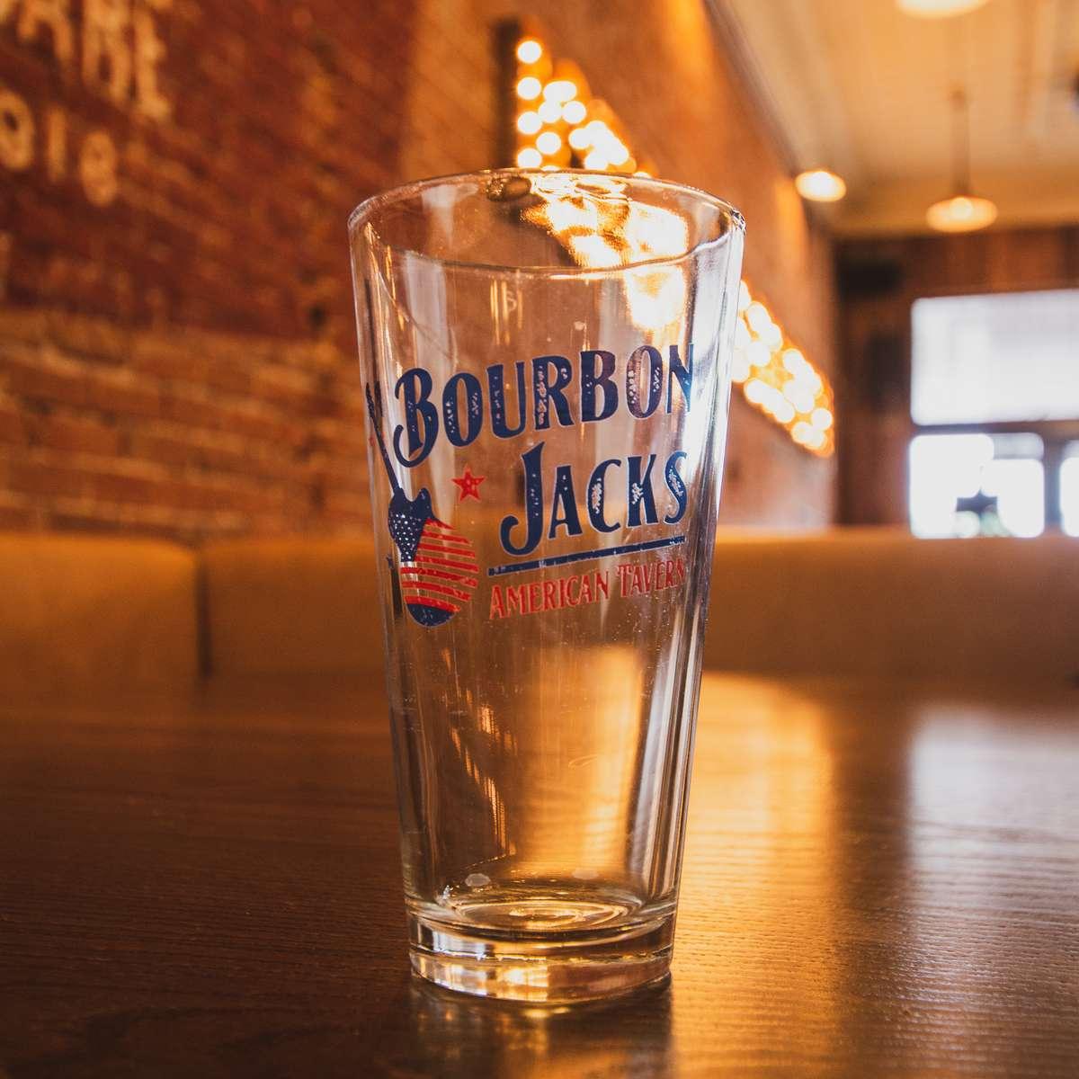 Bourbon Jacks 20 oz Glass