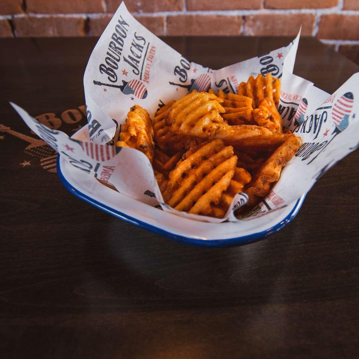 Basket of Waffle Fries