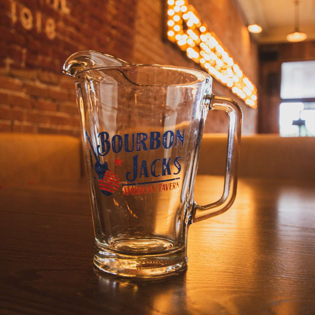 Bourbon Jacks 32 oz Pitcher