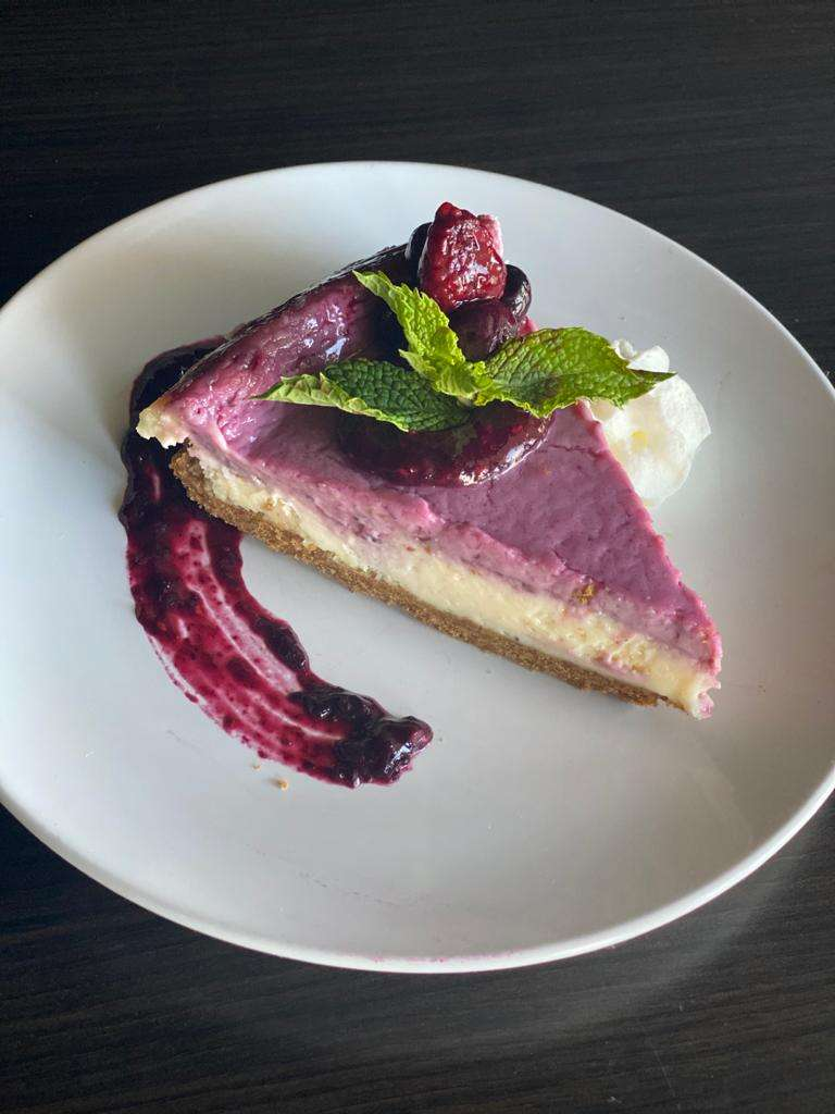 Margarita & Fresh Berry Cheesecake