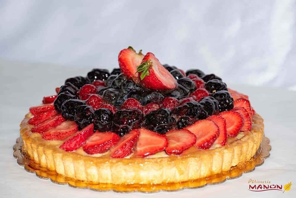 9 inch Fruit Tart