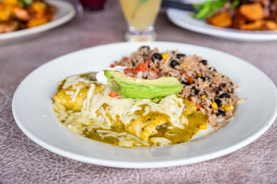 Gruene Chicken Enchiladas