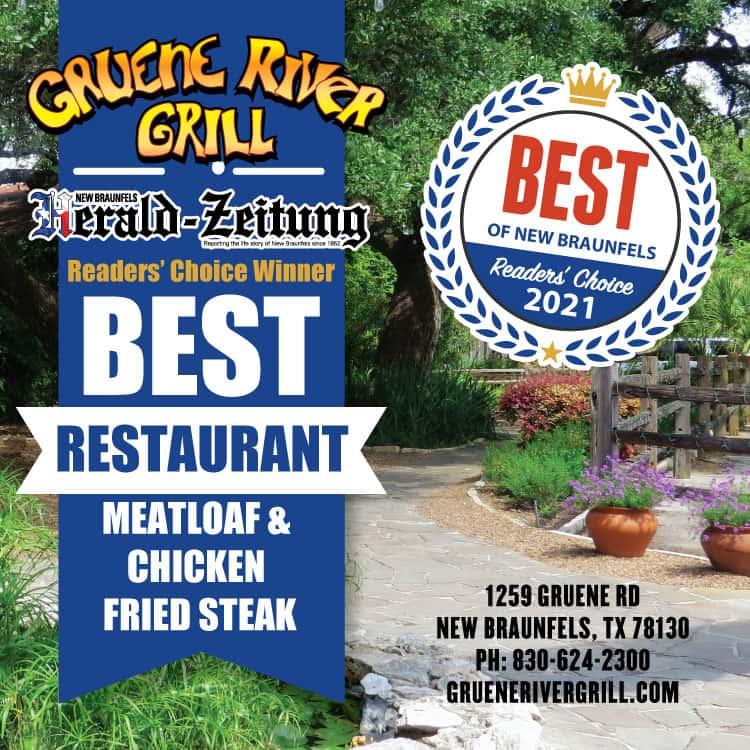 Best restaurant award