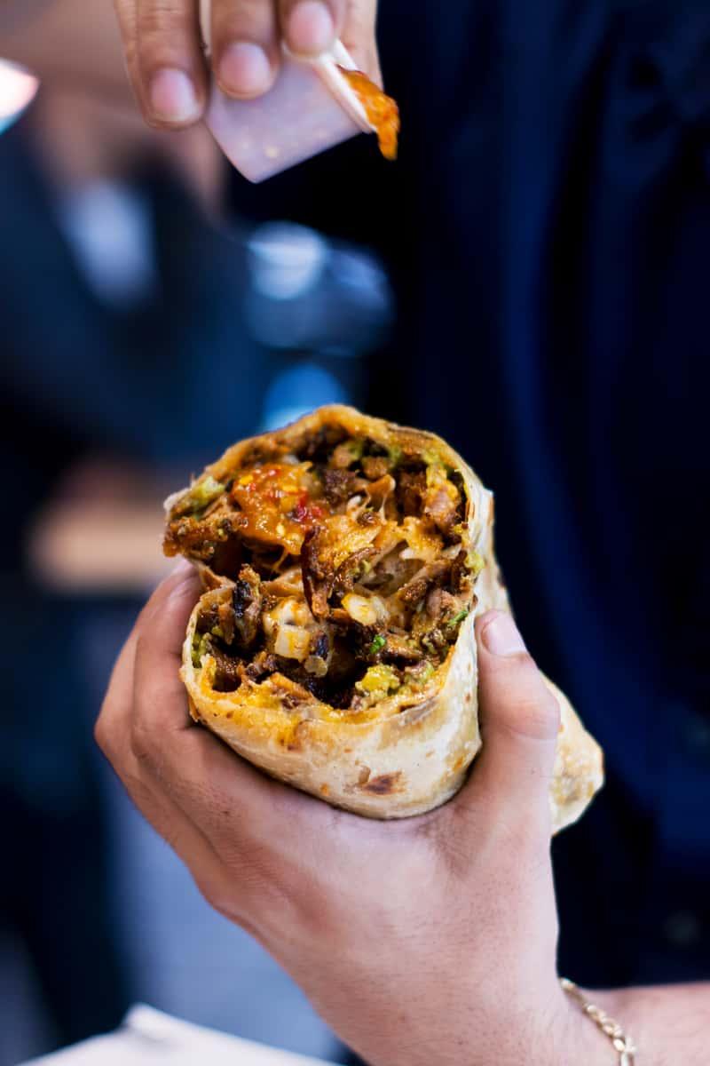 Al Pastor Burrito