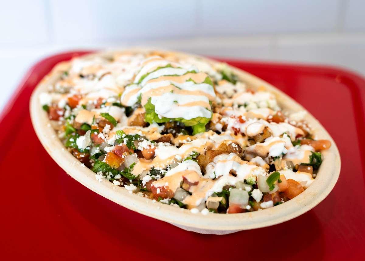 Chircken burrito bowl