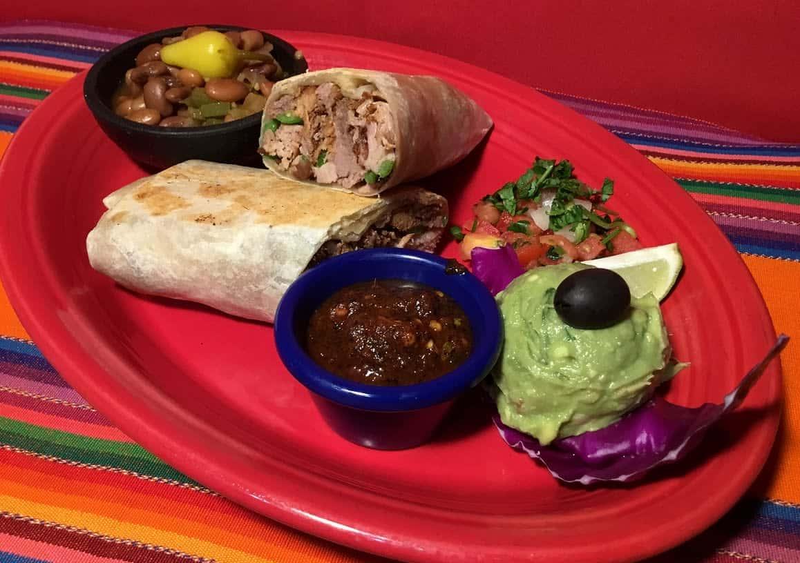 Grilled Carnitas Burrito