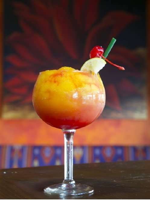 Strawberry-Mango Margarita