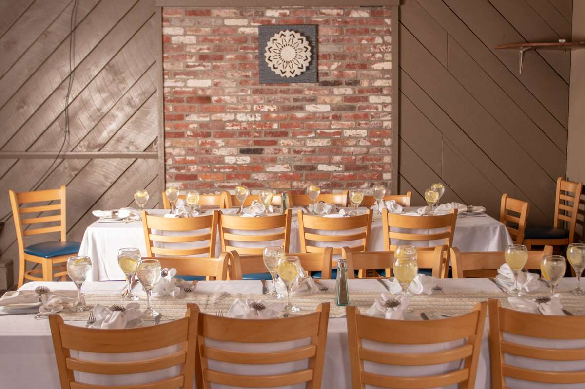 tables in the function room
