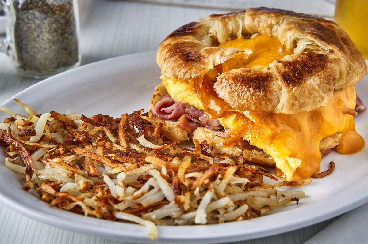 Croissant Egg Sandwich*