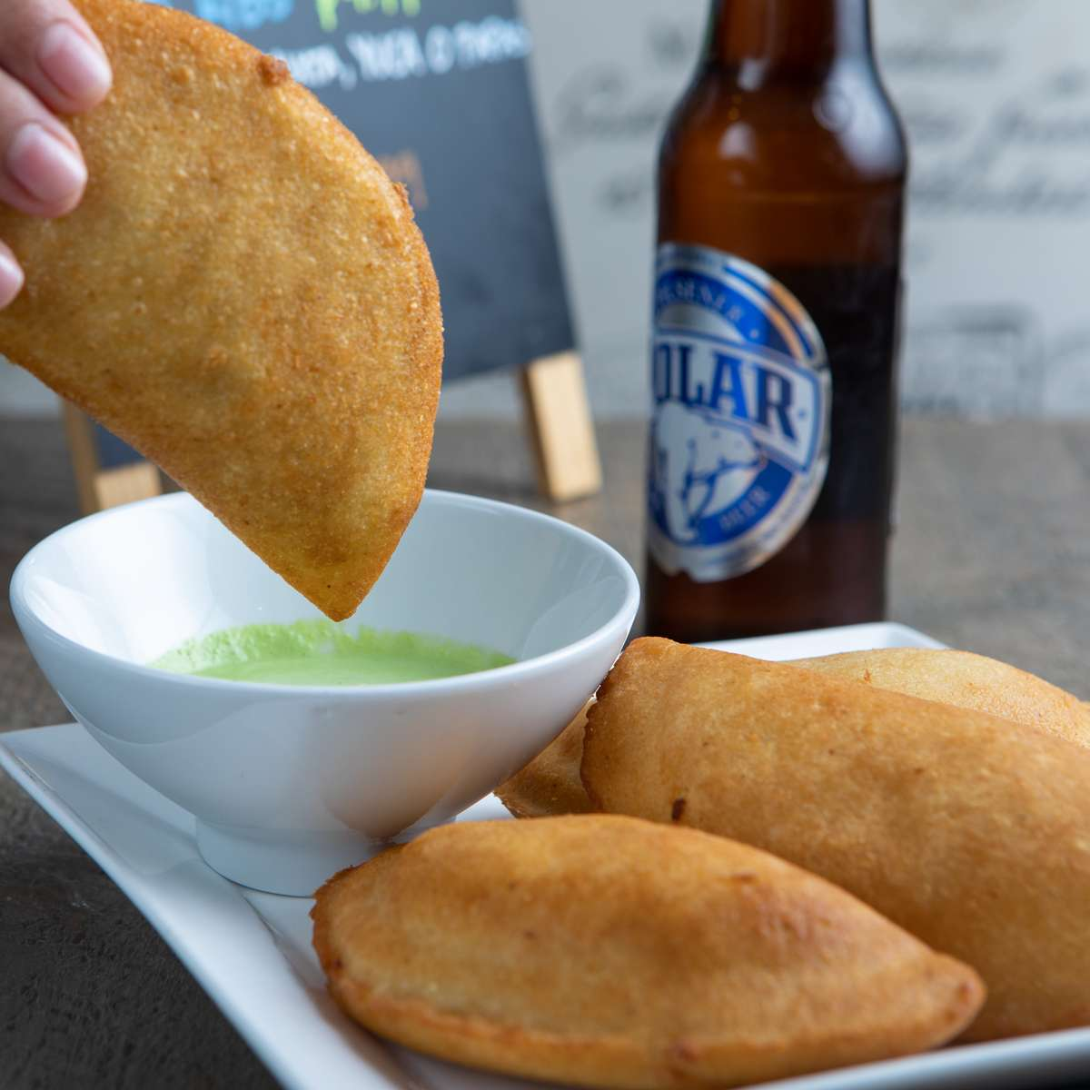 Venezuelan Fried Empanada Combo for 4