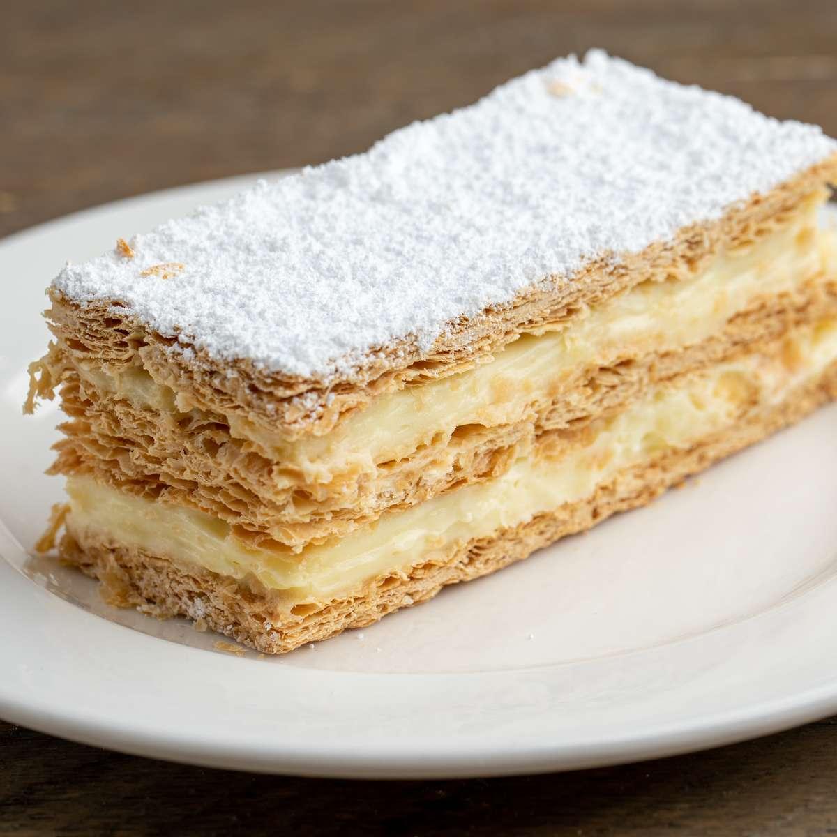 Milhojas Dessert