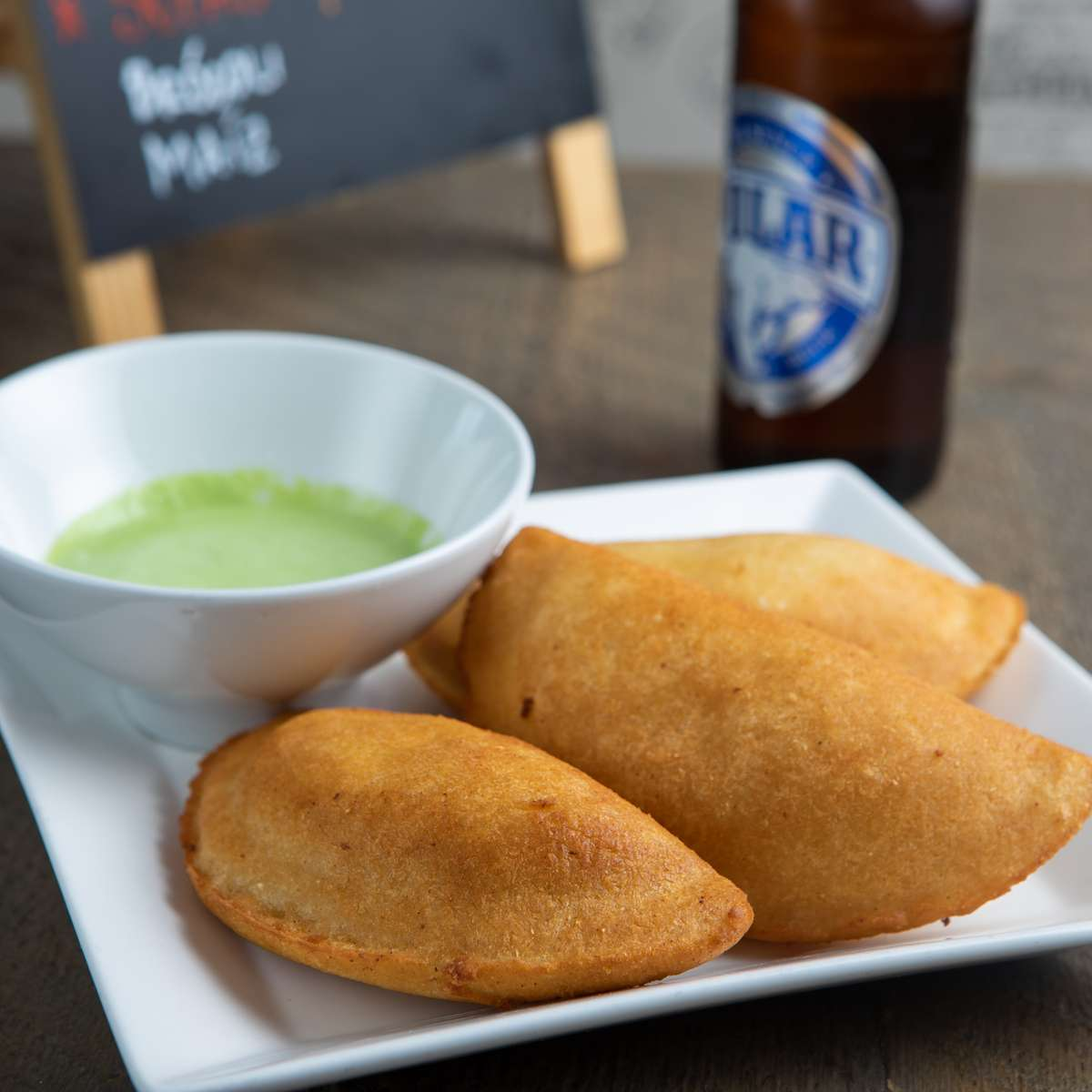 Venezuelan Fried Empanada Combo for 2